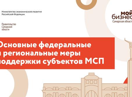 Презентация по мерам поддержки СМСП на федеральном и региональном уровне