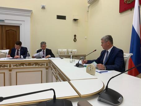 Совещания по обсуждению позиции Самарской области в Нацрейтинге