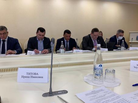 Совещание по вопросу исполнения распоряжения Правительства РФ о регулировании торговой деятельности