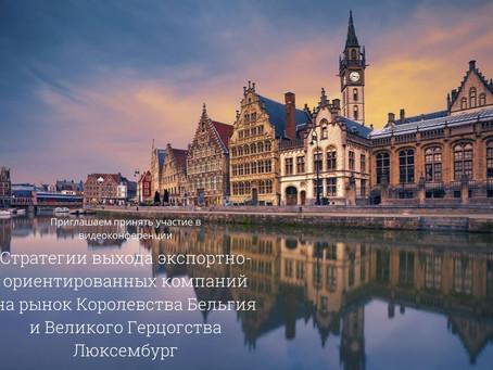 Стратегии выхода компаний на рынок Королевства Бельгия и Великого Герцогства Люксембург