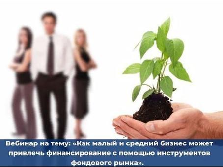 """Вебинар """"Как малый и средний бизнес может привлечь финансирование"""""""