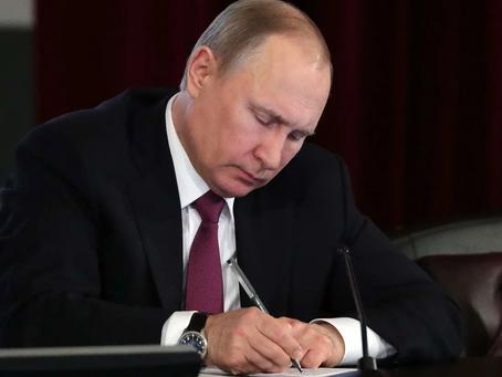 Владимир Путин подписал закон об удаленной работе