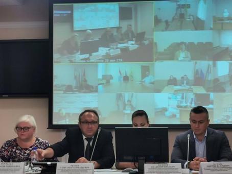 Заседание рабочей группы по имущественной поддержке субъектов малого и среднего предпринимательства