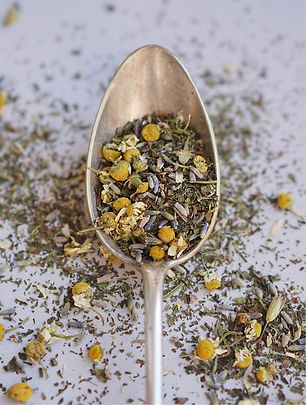 Fresh artisanal tea