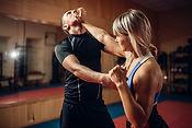 bigstock-Female-person-on-self-defense--