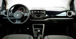 VW Up deska
