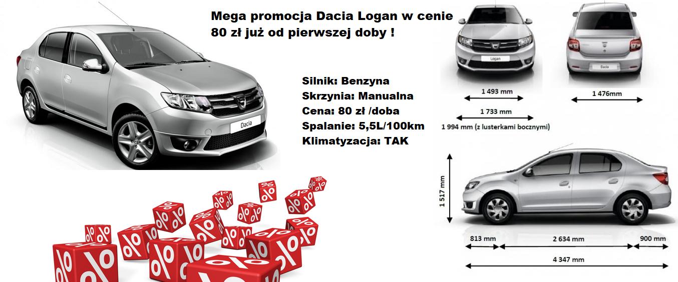 Dacia Logan Gdańsk Lotnisko