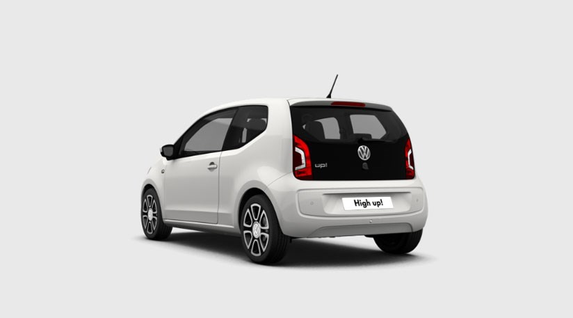 VW UP TYŁ