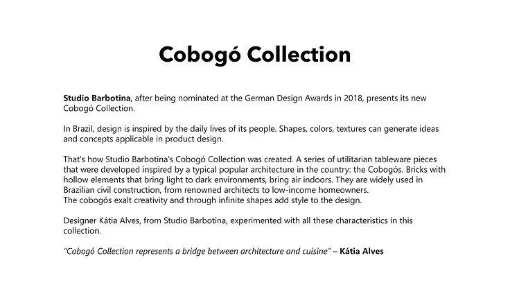 Studio Barbotina - Cobogo Collection - G