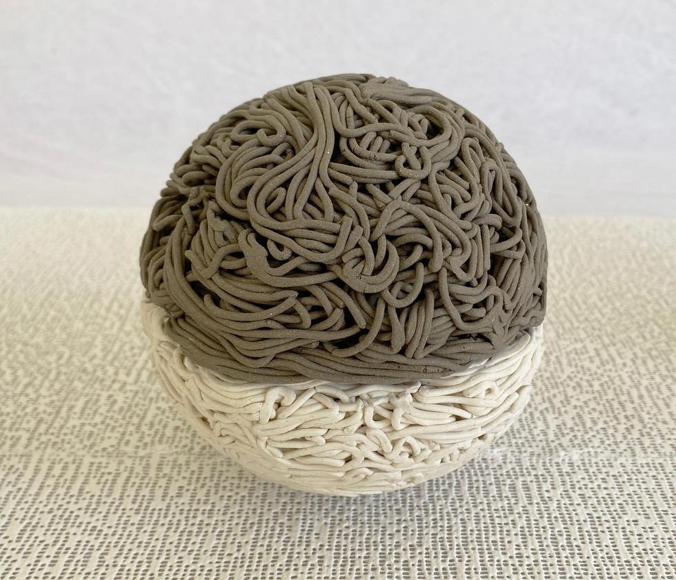 2-Obra1-Livre Arbitrio - Esferas Argila