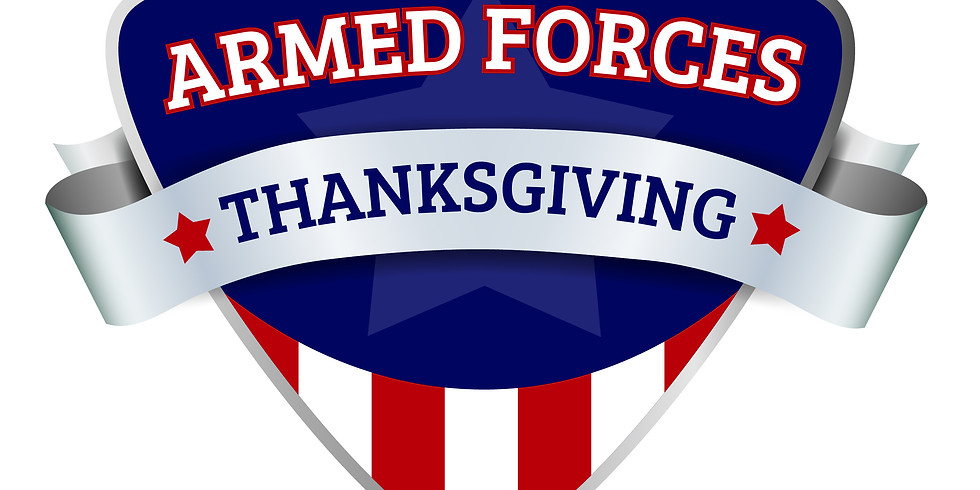 Armed Forces Thanksgiving Salute