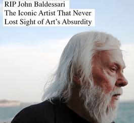 RIP John Baldessari
