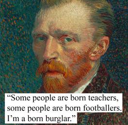 Another Vincent van Gogh Theft