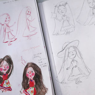 VIKTORIЯ Sketches