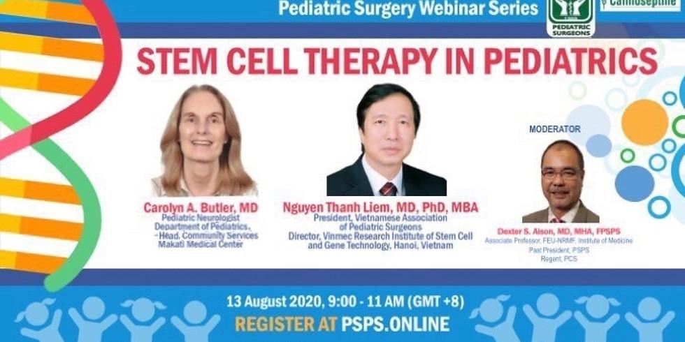 Webinar 2: Stem Cell Therapy in Pediatrics