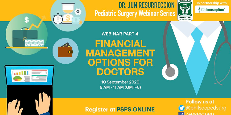 Webinar 4: Financial Management for Doctors