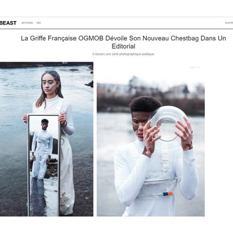HYPEBEAST : La Griffe Française OGMOB Dévoile Son Nouveau Chestbag Dans Un Editorial
