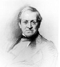 Charles Wheatstone English inventor of stereoscope circa 1868