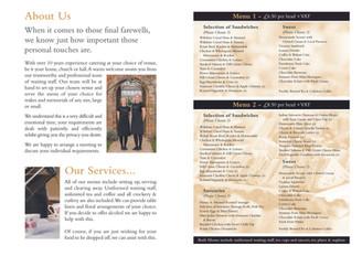 4pp Catering Brochure - inner