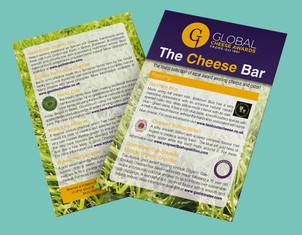 Cheese Bar A6 leaflet