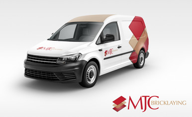 MJC Bricklaying logo design