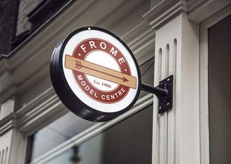 Frome Model Shop logo rework