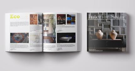 Interor Scene book sample - quartly publication