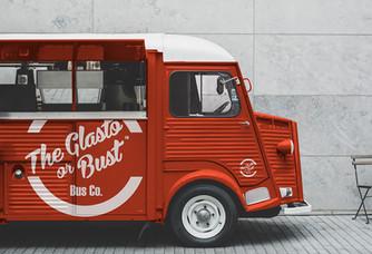 Glasto or Bust logo