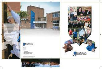 King Arthurs Community School folder