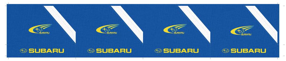 Subaru WRC Service tent