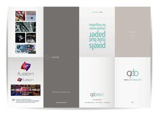 opb self promotion leaflet - outer [BA Hons]
