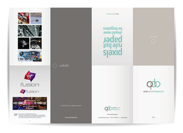 opb self promotion leaflet - outer [BA Hons]