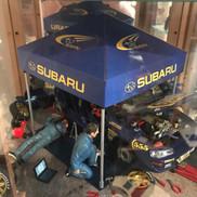 Subaru WRC Service tent (finished)