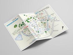 Showground map - drawn in Adobe Illustrator
