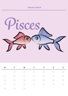 Pisces Calendar