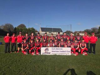 Cork Admirals Youth Team Open Their Season