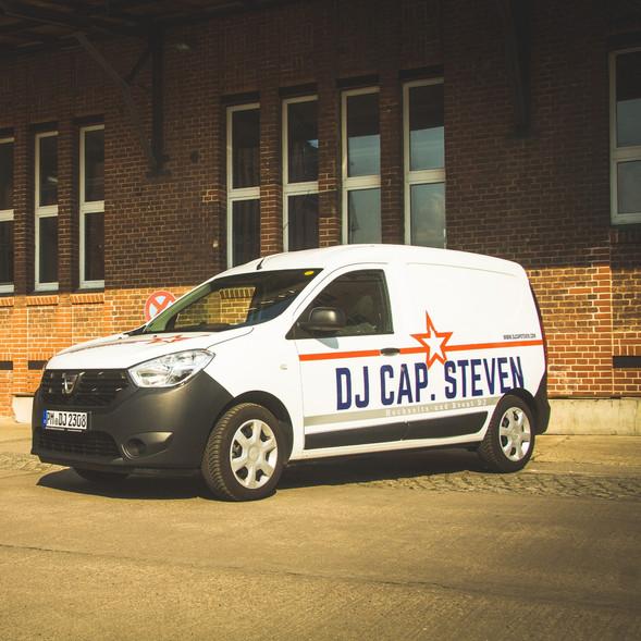 Hochzeit DJ Cap. Steven Auto