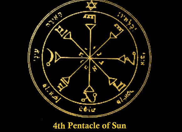 4th Pentacle of Sun | Reveal the Unknown