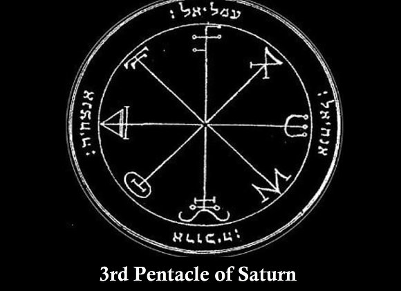 3rd Pentacle of Saturn   Defense From Evil & Plots