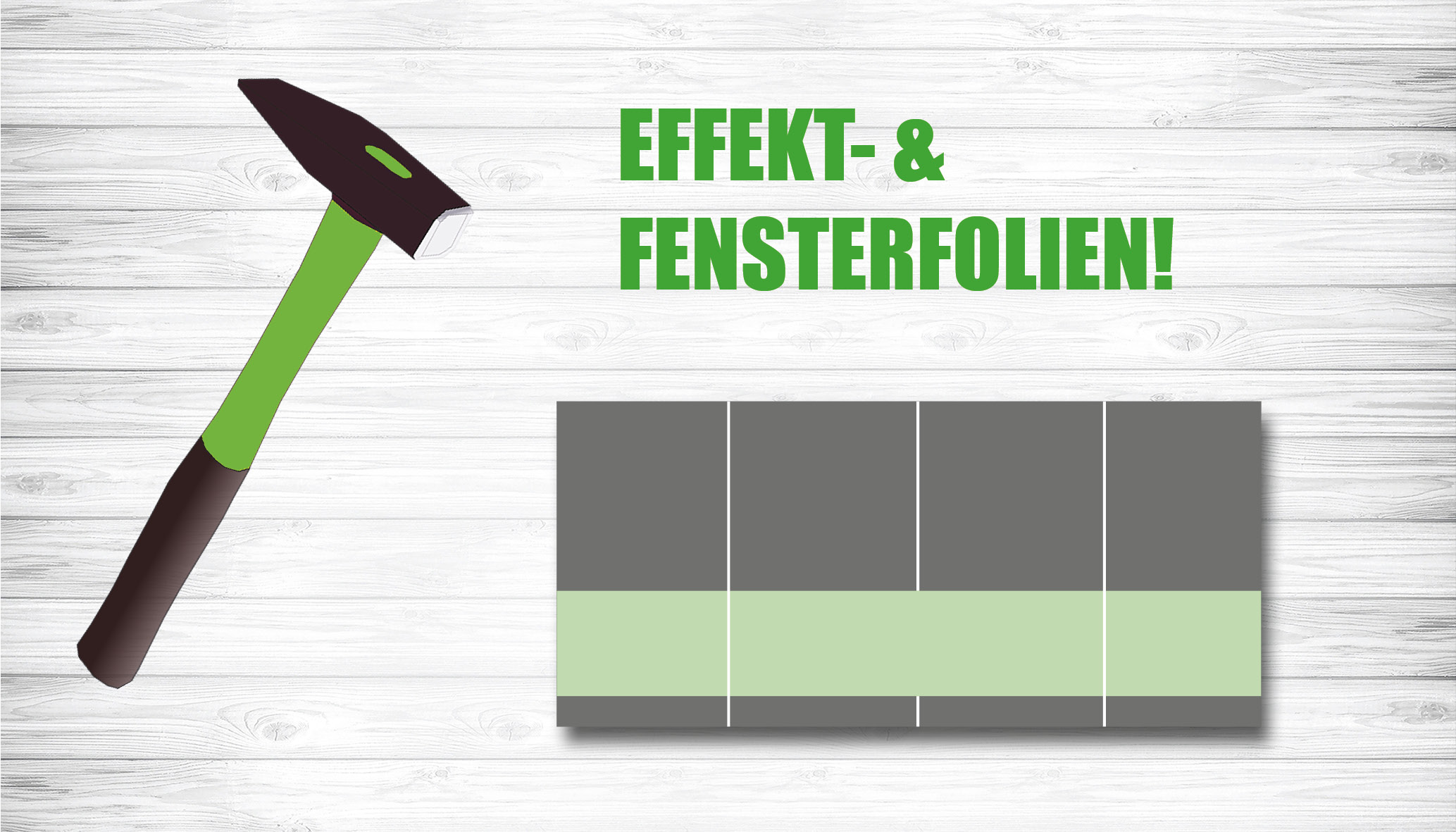 Slideshow Fensterfolien