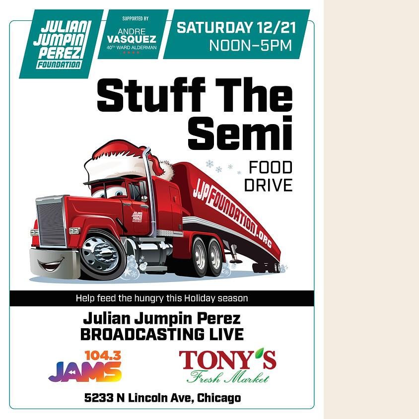 Stuff the Semi Food Drive - Lincoln Ave