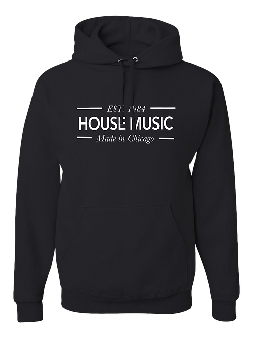 1984 House Music Hoodie