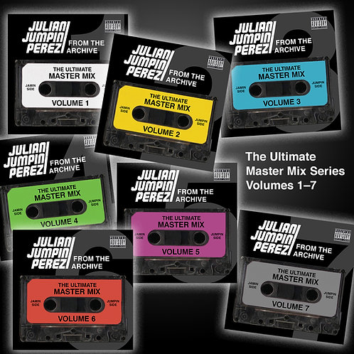 DIGITAL DOWNLOAD - The Ultimate Master Mix - Volumes 1-7