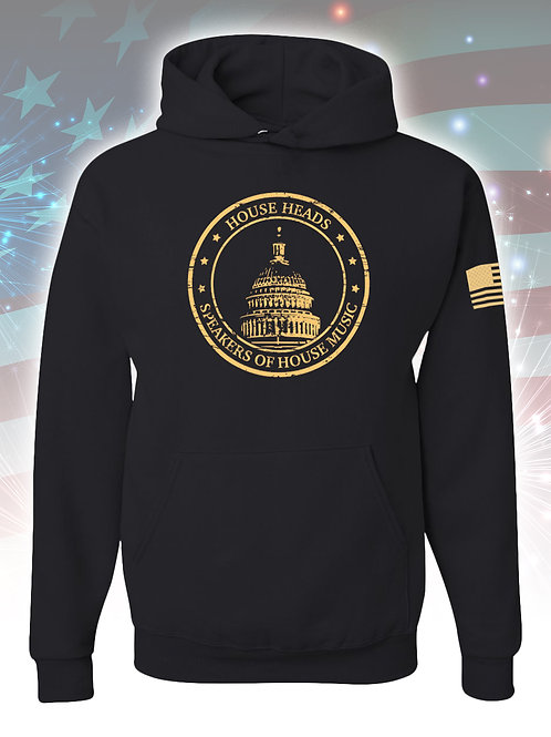 House Heads Speakers of House Hoodie - Black