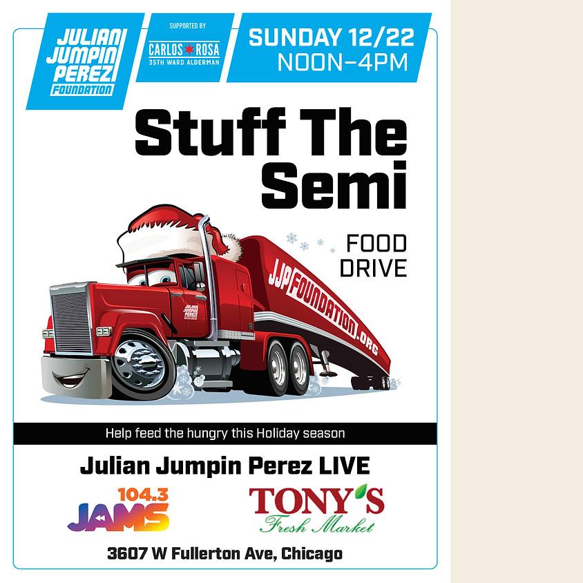 Stuff the Semi Food Drive - Fullerton Ave