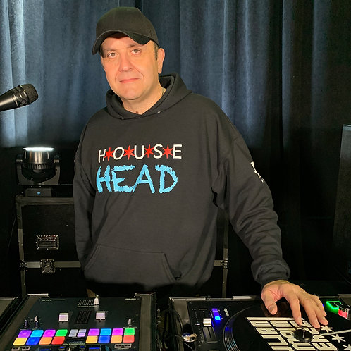 Chicago House Head Hoodie