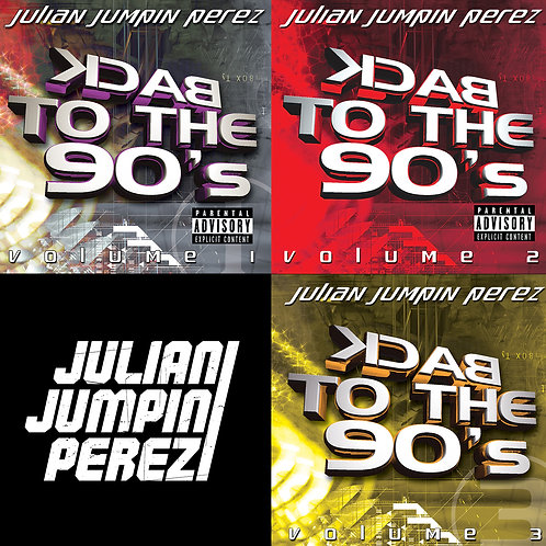 DIGITAL DOWNLOAD - Back to the 90's - Volumes 1-3