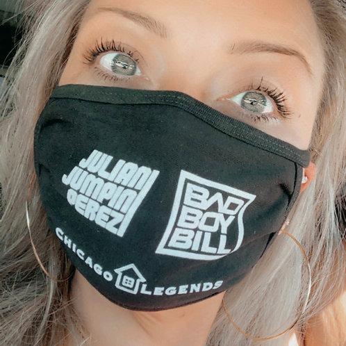 Face Mask - BBB JJP Chicago House Legends
