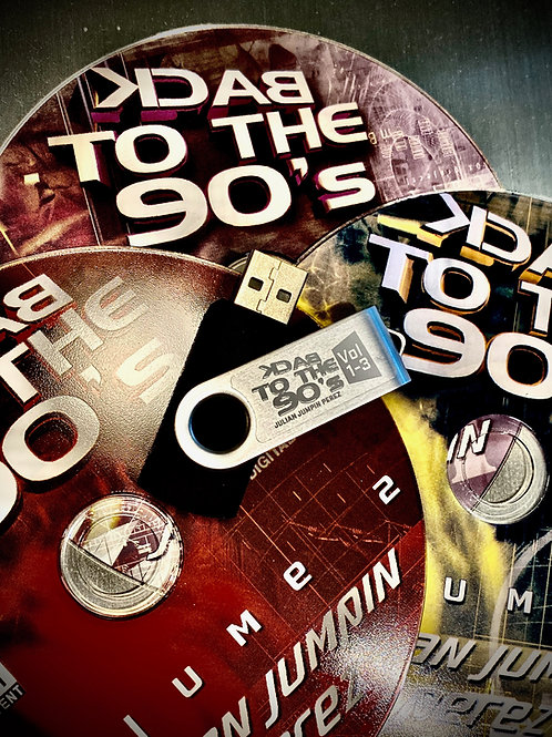 USB Drive - Back to the 90s - Volumes 1-3