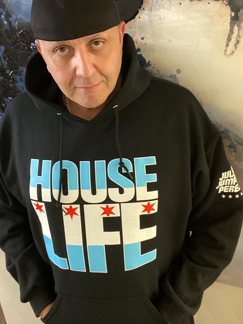 House Life Chicago Flag Hoodie